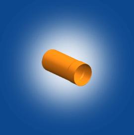 Underground drainage pipes